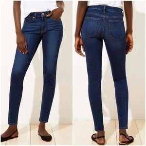 Women's Ann Taylor Loft Curvy Skinny Jeans